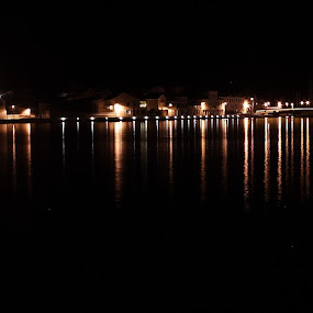 Tisno by night by Pancho Sastre - City,  Street & Park  Skylines
