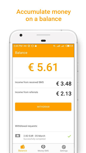 Money SMS | Make Money Online 1.0.3-demo screenshots 1