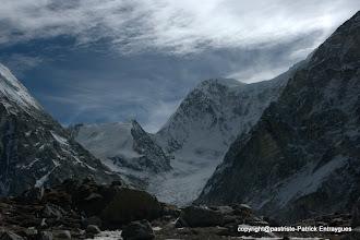 Photo: au centre le Nepal Gap 6100 m