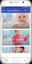 Baby development screenshot thumbnail