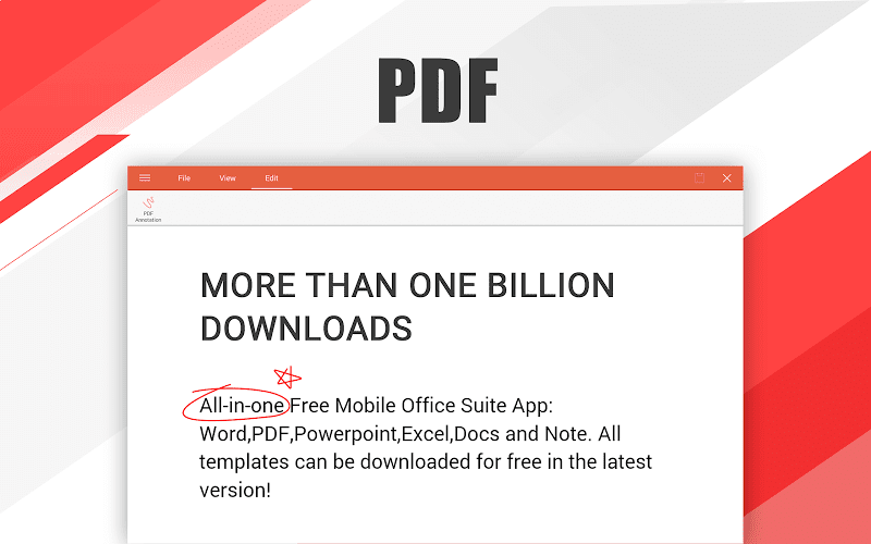WPS Office - Word, Docs, PDF, Note, Slide & Sheet Screenshot 10