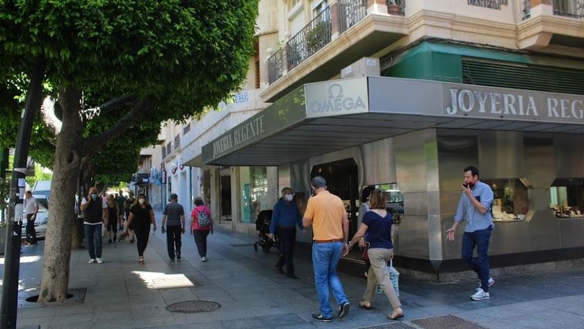 Imagen del Paseo de Almería.