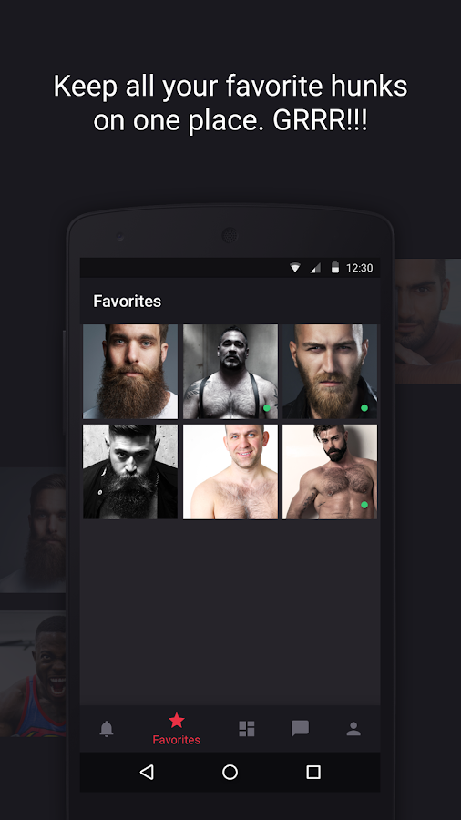 Grizzly - Gay Dating For Bears- screenshot