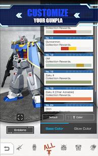 Game GUNDAM BATTLE GUNPLA WARFARE APK for Windows Phone