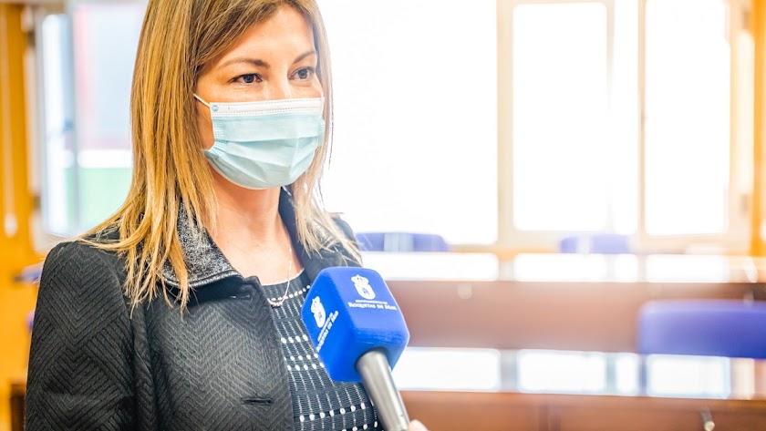La concejal de Hacienda y Contratación, Mayte Fernández.