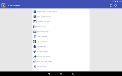 App2SD: All in One Tool [ROOT] APK screenshot thumbnail 25