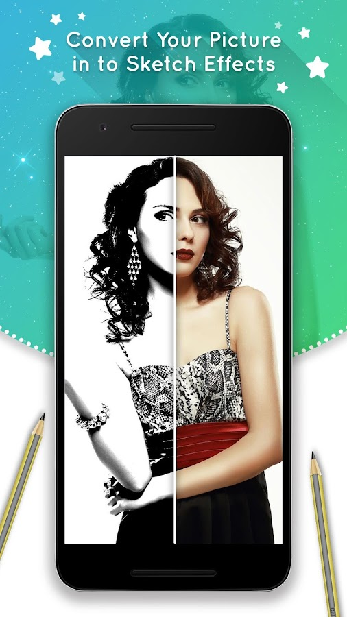 приложение фото превращает в картинку мелированные волосы
