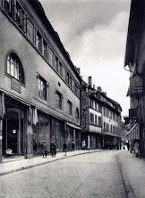 Photo: Neumärker Straße richtung Markt mit rechts das  Textilwarenhaus Carl Karutz