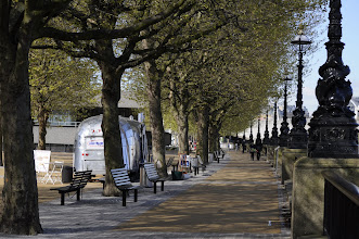 Photo: Walking along the south bank of the Thames