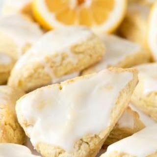 Mini Lemon Scones.