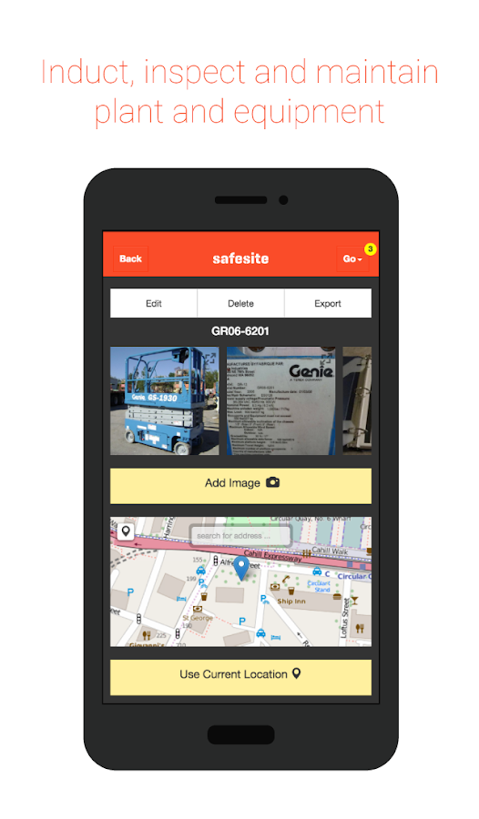 Safesite- screenshot