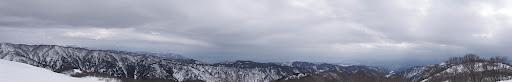 山頂からパノラマ