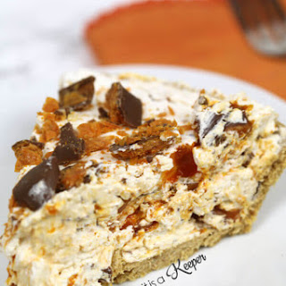 No Bake Butterfinger Pie Recipe