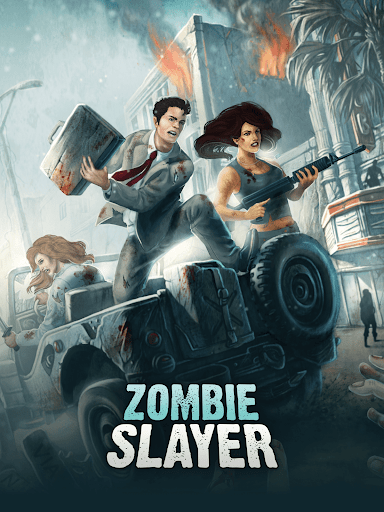 Zombie Slayer: Survival apkslow screenshots 11