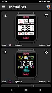 My WatchFace for Amazfit Bip 1