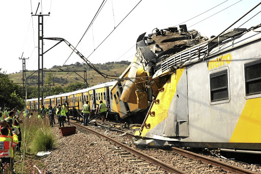 About 300 train commuters were injured recently.
