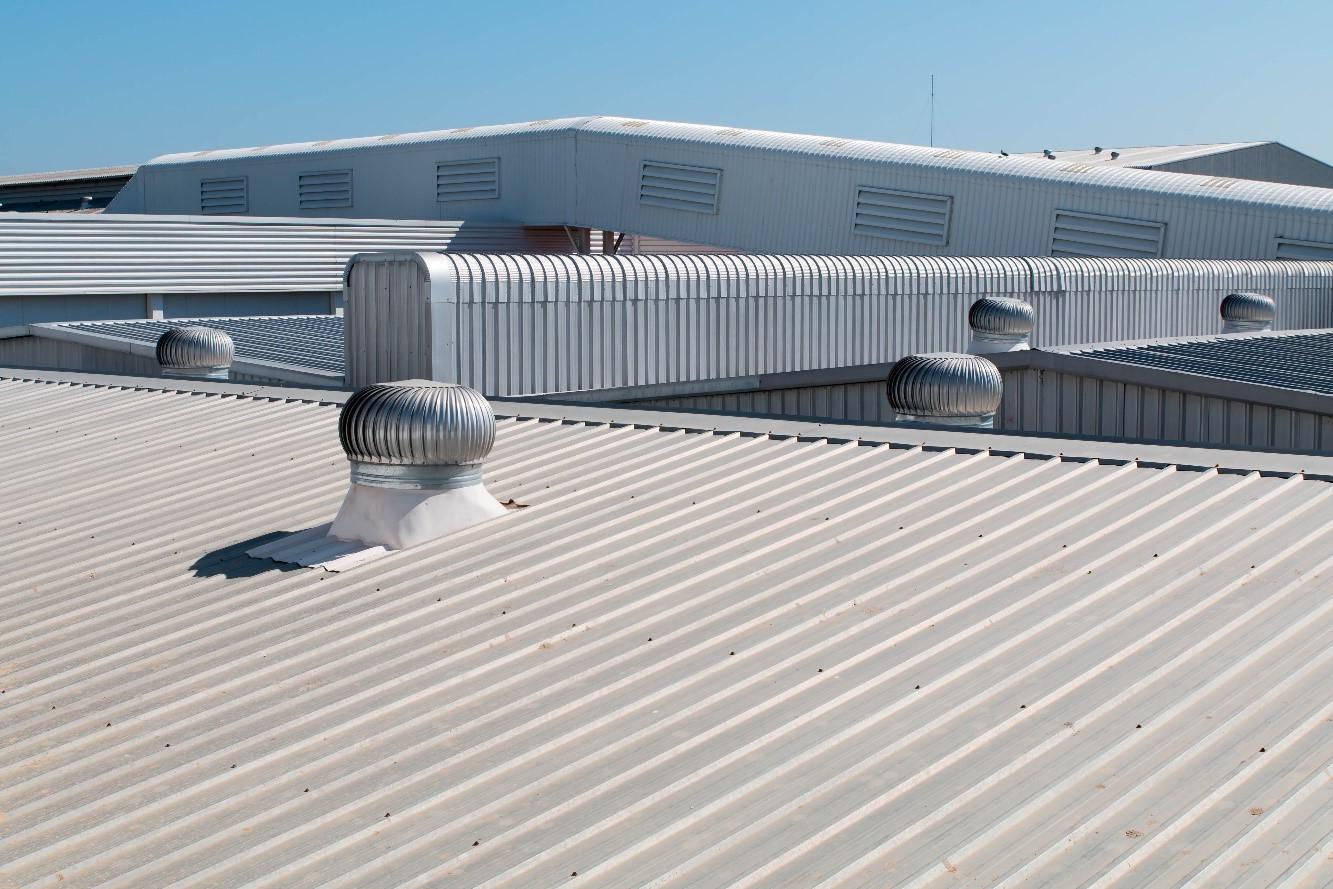 Lợp mái nhà xưởng cùng tôn chống cháy 11 sóng
