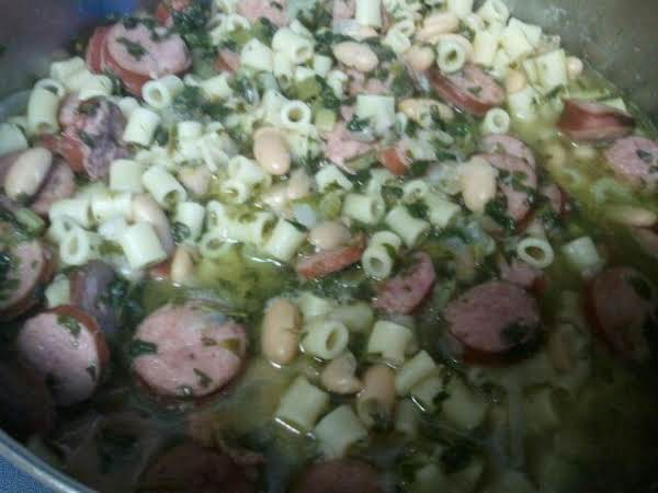 Hearty Bean & Kielbasa Soup