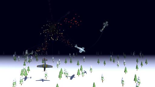 Code Triche Night Fighter: WW2 Dogfight APK MOD (Astuce) screenshots 5