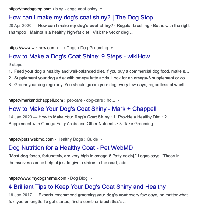 SEO for Affiliate Marketing - The Ultimate Guide for 2021 Google search
