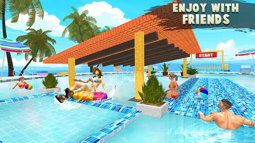 Water Parks Extreme Slide Ride : Amusement Park 3D 1.32 screenshots 17