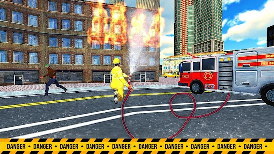 NY City Firefighter: Protector of Earth 3D - náhled