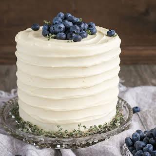 Blueberry Banana Cake.