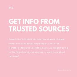 Trusted Sources - Instagram Post item
