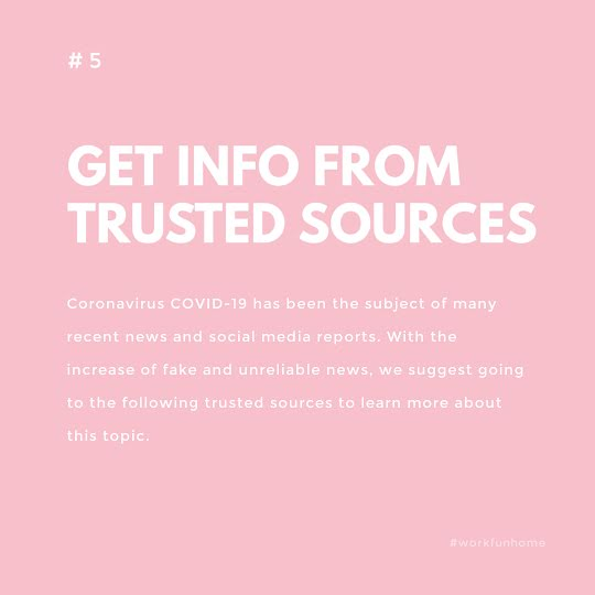 Trusted Sources - Instagram Post Template