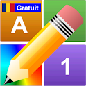Litere Numere Culori Gratuit icon