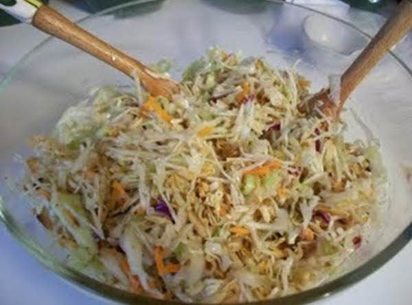 oriental coleslaw recipe  just a pinch recipes
