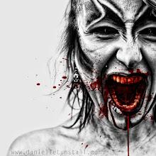 Photo: model and make up Alice Bizarre :)