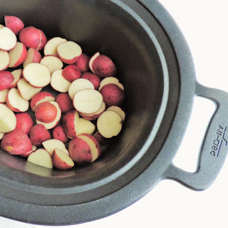 Steamy Sides--Crockpot Red Potatoes.