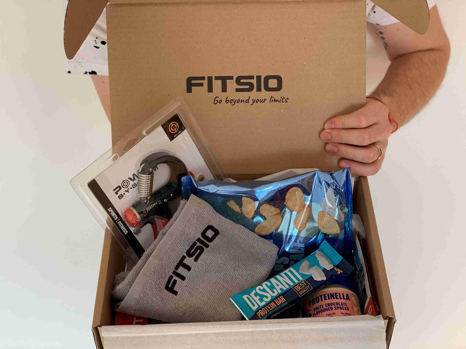 Recenze Fitsio.cz: Jednorázový fitness box pro muže