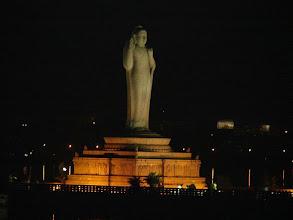 Photo: 7B120014 monolityczny Budda (18m) na jeziorze H