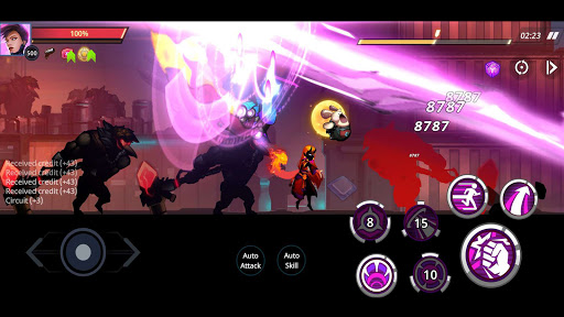 Cyber Fighters: League of Cyberpunk Stickman 2077 1.8.18 screenshots 23
