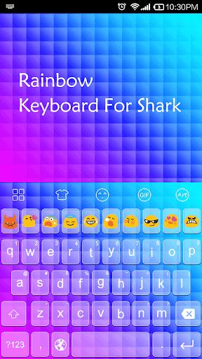 Rainbow -Emoji Gif Keyboard