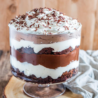 Brownie Trifle #Recipe