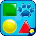 Kids games: Baby shapes icon
