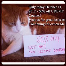 Photo: Only today - October 11th 2012, 60% off! Not me!! The Udemy Courses! Find more at ContinuingEducation.Me (2) #intercer #cat #pet #cats #pets #meow #petsofinstagram #beautiful #cute #cutie #animal #picpets #sweet #kitty #kitten #catlovers #mouth #learn #education #continue #school #teach #books #programming #learning #college - via Instagram, http://instagr.am/p/Qqrd8MpfhC/