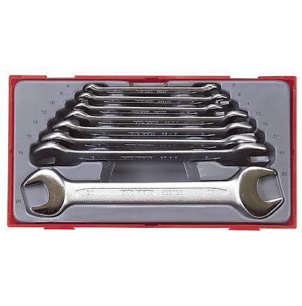Fasta nycklar i sats Teng Tools TT6208