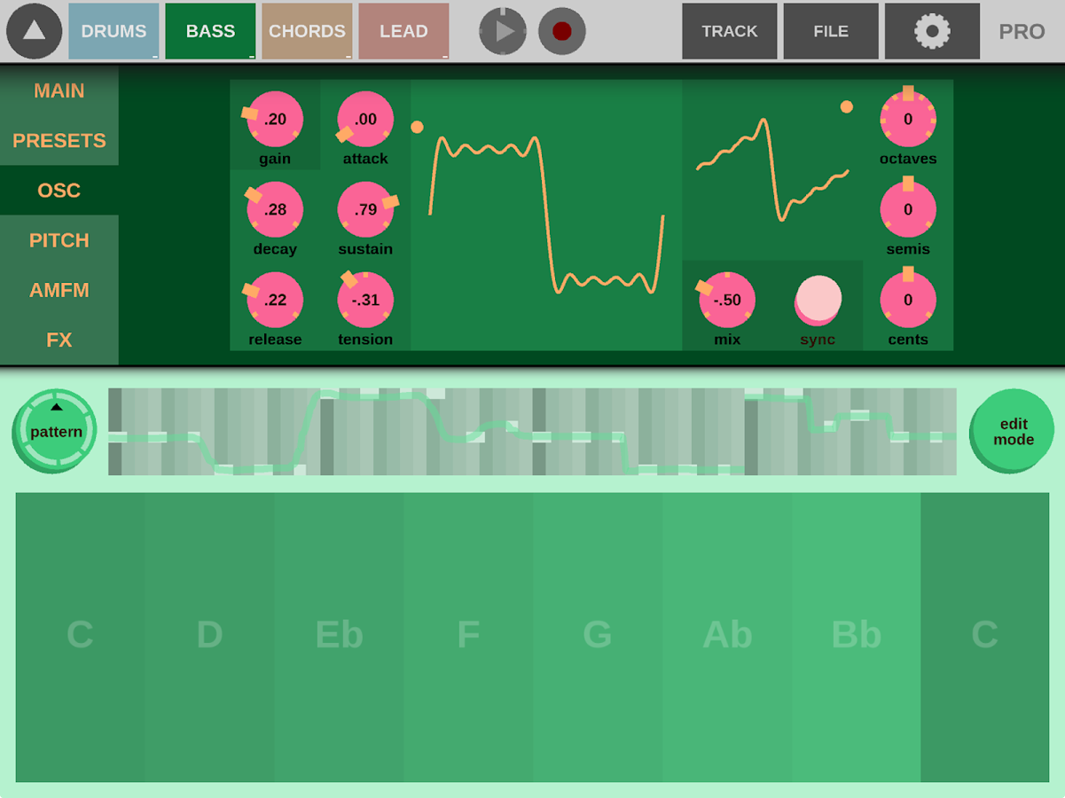 Beatonal – Screenshot