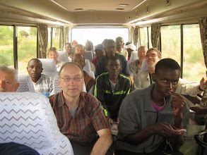 Photo: En route with support staff
