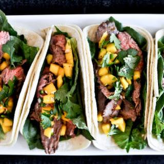 Thai Beef Tacos.