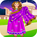 Girls Games - Dress Up Indians icon