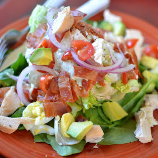 Cobb Wedge with Blue Cheese Dressing