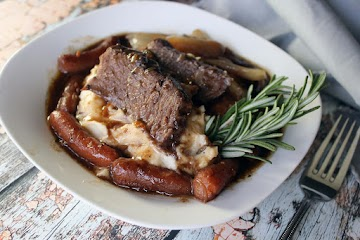 Best Ever Pot Roast With Boursin Mashed Potatoes Recipe