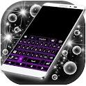 Neon Purple Keyboard Gratis icon