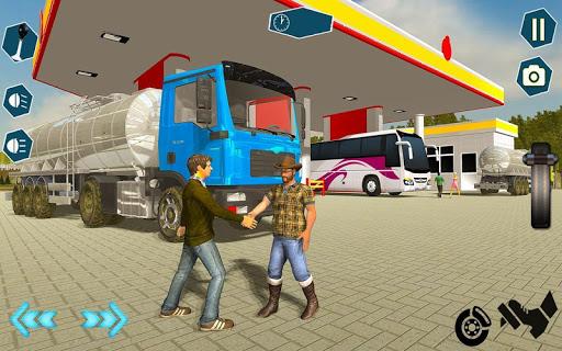Oil Tanker Transporter Truck Games 2 apktram screenshots 6