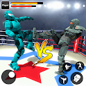 Robot Ring Fighting Real Robot VS Superhero Robot icon